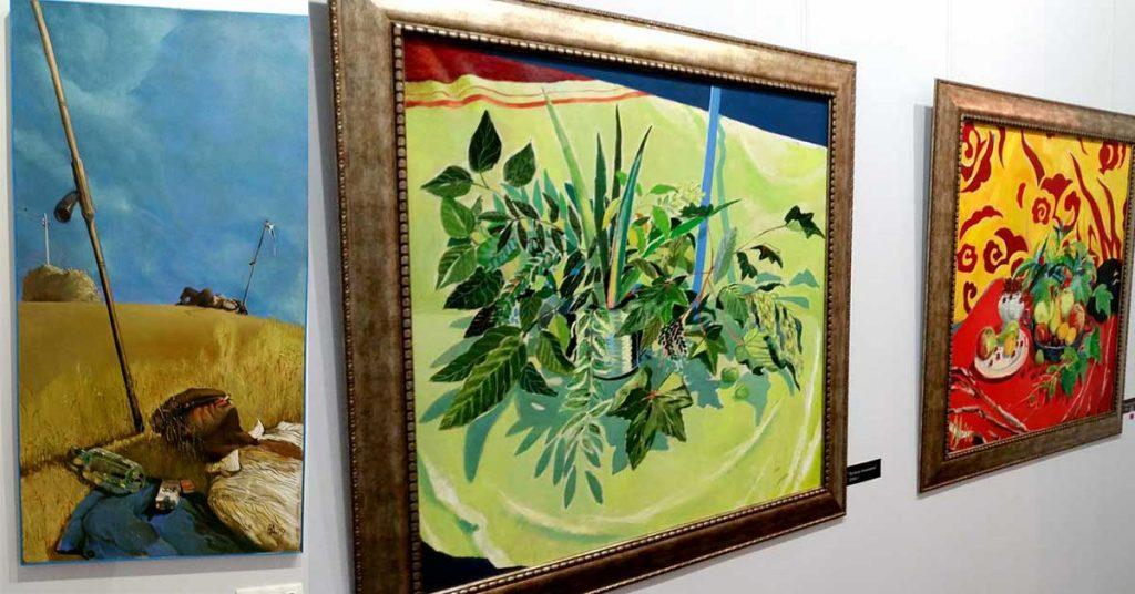Андрей Даниел шест картини